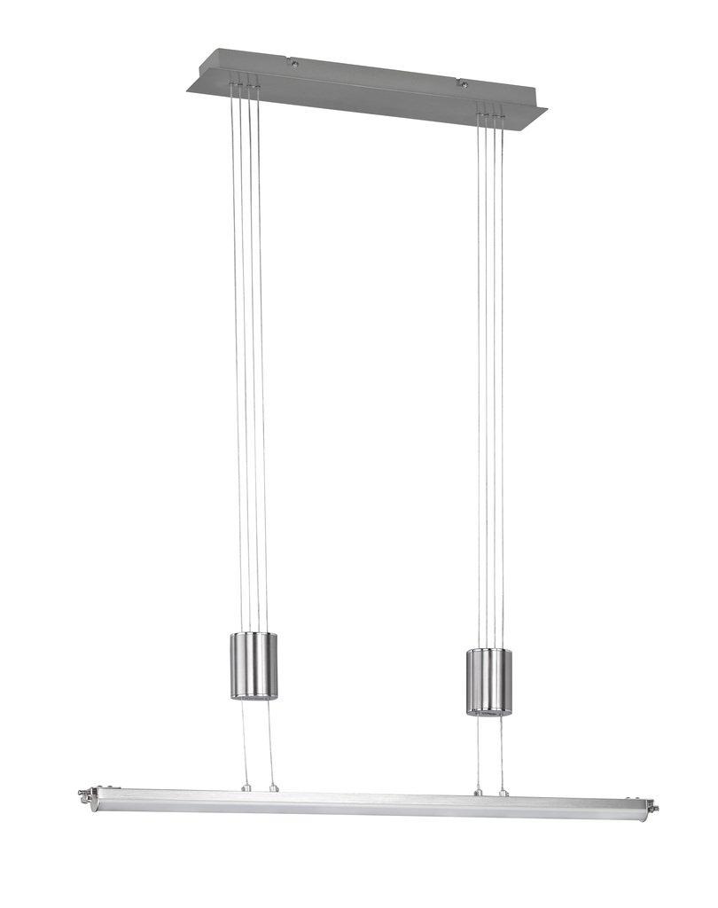 Wofi LED Höhenverstellbare Pendelleuchte Toulouse, Metallisch, 7997.01.64.0000