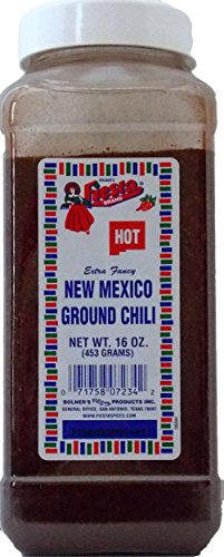 Bolner's Fiesta Extra Fancy Hot New Mexico Ground Chili, 16 Oz.