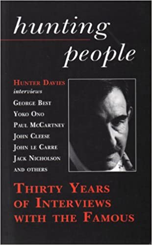 Book Hunting People: Thirty Years of Interviewing the Famous