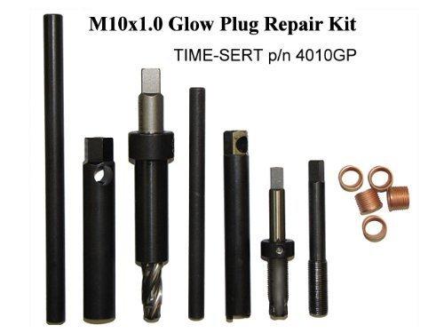 TIME-SERT Metric Spark Plug Kit M10x1.0 Glow Plug Part # 4010GP