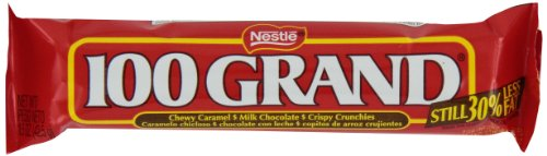 Nestle 100 Grand Chocolate Candy Bars, 1.5-Ounce Bars (Pack of 36)