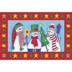 Doormat Snow Buddies