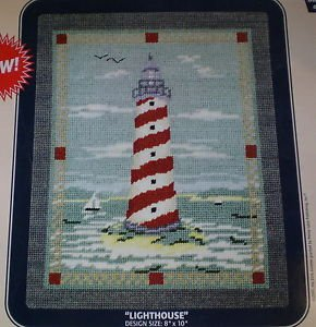 DMC Needlepoint Canvas Collection - Lighthouse 8