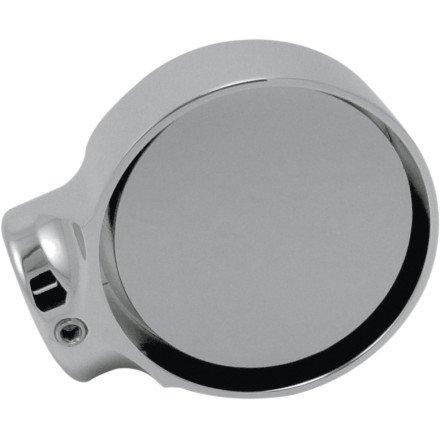 Joker Machine Concealed Bar End Mirror - 2 Tech (ROUND)