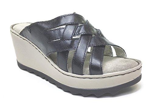 Zen - Sandalias de vestir de Piel para mujer multicolor multicolor 35 negro