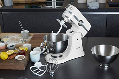 AEG KM4100 Robot de Cocina con Bol Batidora, Amasadora, Apta para ...