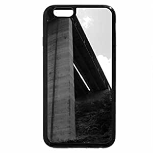 iPhone 6S Case, iPhone 6 Case (Black & White) - bridge 2