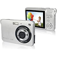 HugeCameraShop DC-530I 18MP 2.7-Inch LCD Screen Prinsam Digital Camera (Silver)