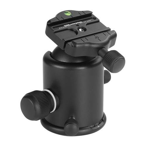 Kirk BH-1 Ballhead with Quick Release, Supports 50 lbs (22.6kg) by Kirk