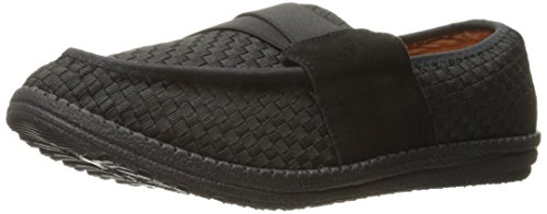 Bernie Mev Mens Lennon Slip-on Loafer Svart