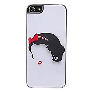 SUUER Custom Snow white Skin Personalized Custom Hard CASE for iPhone 4 4s Durable Case Cover