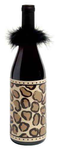 Lolita Vinyl Wine Bottle Wrap, - Lolita Leopard