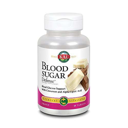 KAL® Blood Sugar Defense | Blood Glucose Support with Cinnamon and Alpha Lipoic Acid | With ActivTab Technology for…