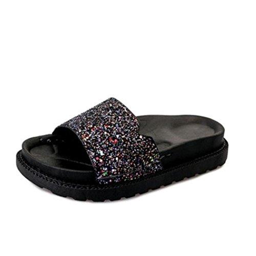 RuiDamen und Hausschuhe im Sommer, ein Wort von coolen Schuhen mit dicken Sohlen