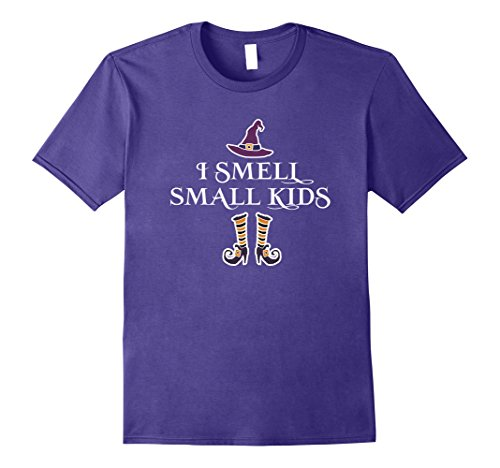 Mens I smell small kids Halloween funny t shirt Medium (Casting Love Spells On Halloween)