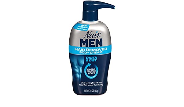 Nair Hair Remover Men Body Cream 385 ml Pump by Nair: Amazon.es: Salud y cuidado personal