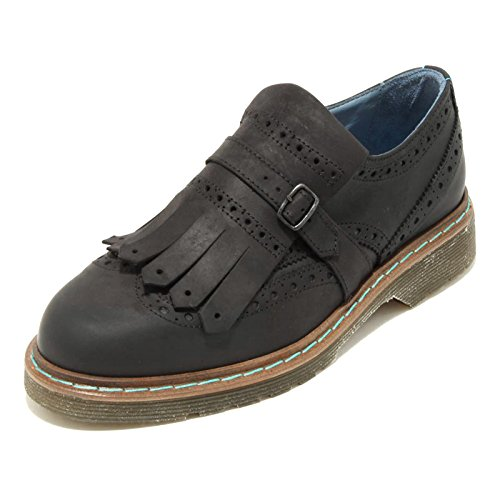 Shoes Loafer West Mocassino Donna British Model 2043g Nero Bassa Scarpa Philippe qTvfw6pAxg