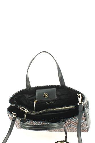 Versace , Damen Henkeltasche Schwarz schwarz Einheitsgröße
