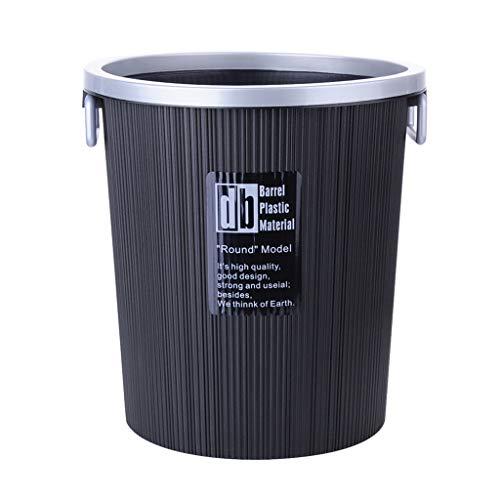 DZXM Trash Can Plastic Rubbish Storage Box Bomb Cover Trash