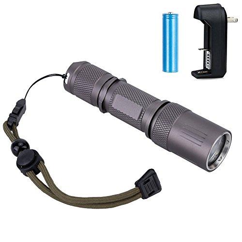 BlueFire Waterproof Flashlight Underwater Submarine