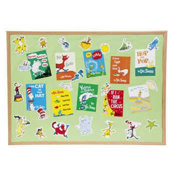 Dr. Seuss(TM) Favorite Books Mini Bulletin Board Set ()