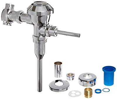 Zurn Z6003-EWS-YB-YC 0.5 Gallon Urinal Valve w/Sweat Solder Adaptor And Wall Flange