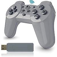 JoyRetro 2.4ghz Wireless Controller for PlayStation...