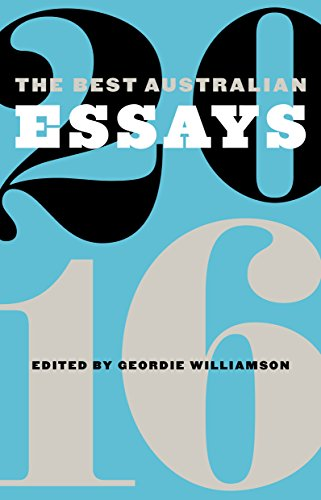 Download PDF The Best Australian Essays 2016
