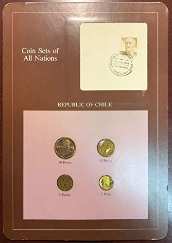 Coin Sets of All Nations - Republic of Chile 4-Coin Set - Mint Condition