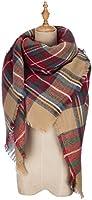 POSESHE Stylish Warm Blanket Scarf Gorgeous Wrap Shawl