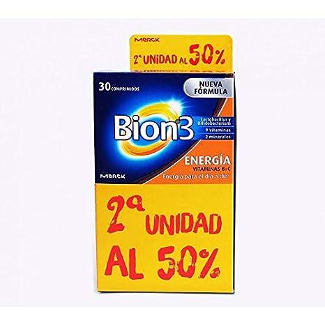 PACK BION ENERGIA 2ºUD 50% - 60 Comprimidos: Amazon.es: Salud y cuidado personal