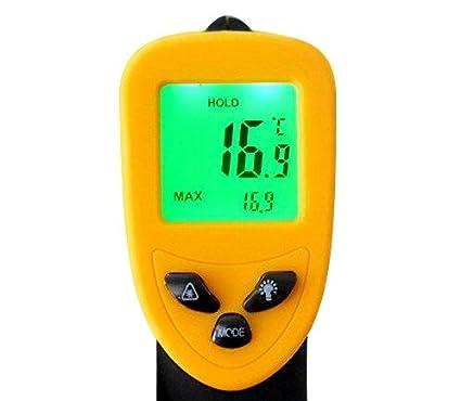 RCYAGO DT-500 comprobador de temperatura termómetro pistola Digital con pantalla LCD de temperatura pistola