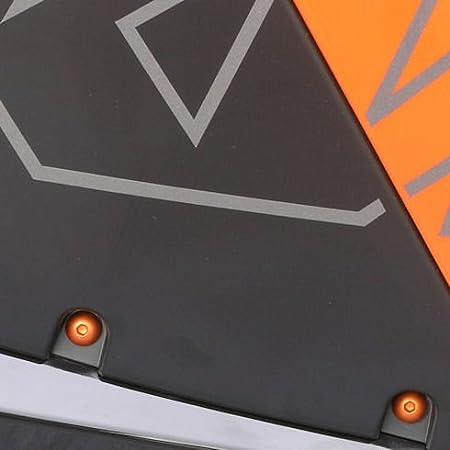 Or Kit visserie car/Ã/©nage en aluminium FZ1 Fazer ABS 08