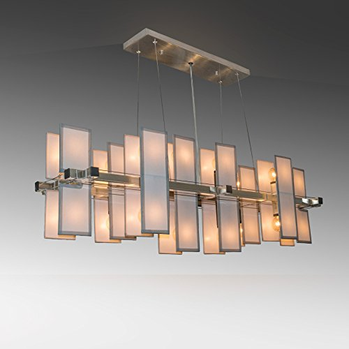 Matrix Modular Panel Linear Lighting Suspension - Light Linear Suspension