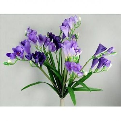 12 Stems of Artificial Lavendar Freesia Stems ()
