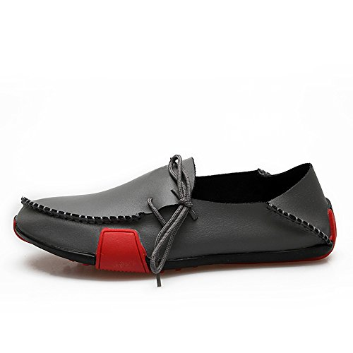 Men's Casual Leather Loafers Driving Shoes Breathable