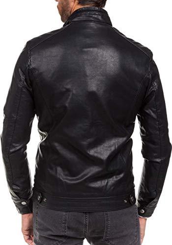Prácticos 278 Chaqueta BOLF Bolsillos Hombre Negro Multipurpose Extreme HxIxwqAf