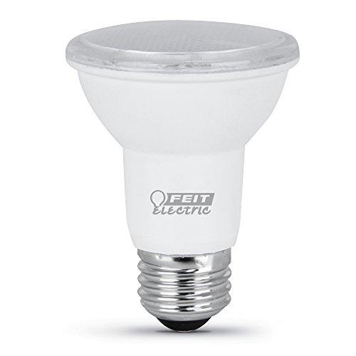FEIT ELECTRIC PAR2050/10KLED/3 3-Pack 7 Watt Par20 E26 Bulb, 3000K Bright White, 3
