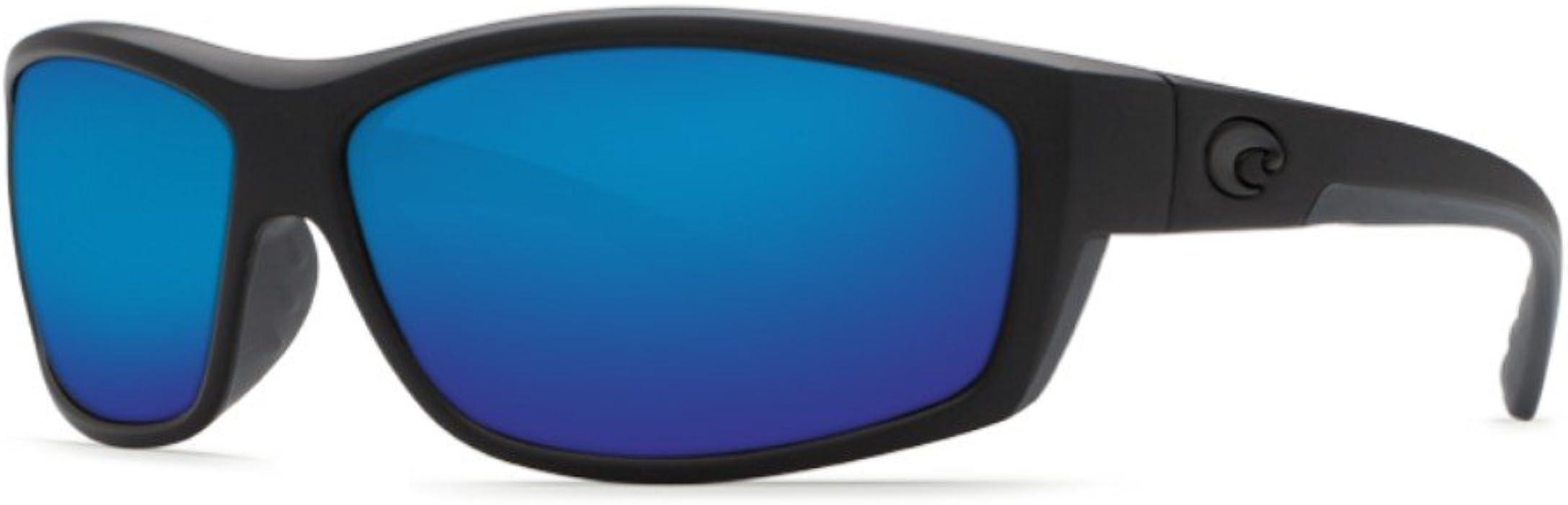 de25c6a02e Costa Del Mar Saltbreak 580G Polarized Sunglasses in Blackout   Blue Mirror  Lens