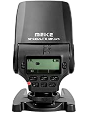 Khalia-Foto Meike Speedlite TTL Blitz MK-320 voor Panasonic Olympus Leica DSLR camera's