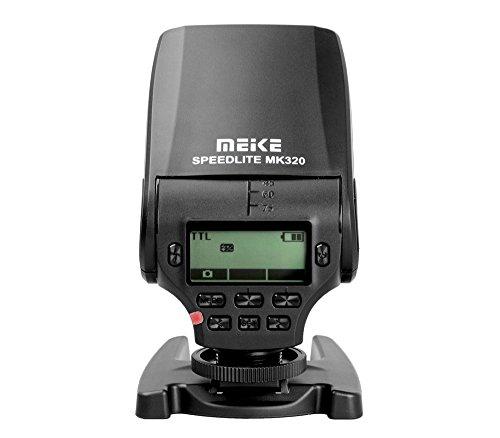 Khalia-Foto Meike Speedlite TTL Blitz MK-320 für Panasonic Olympus Leica DSLR Kameras