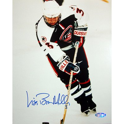Lisa Miller 1998 US Women's Hockey Action Autographed