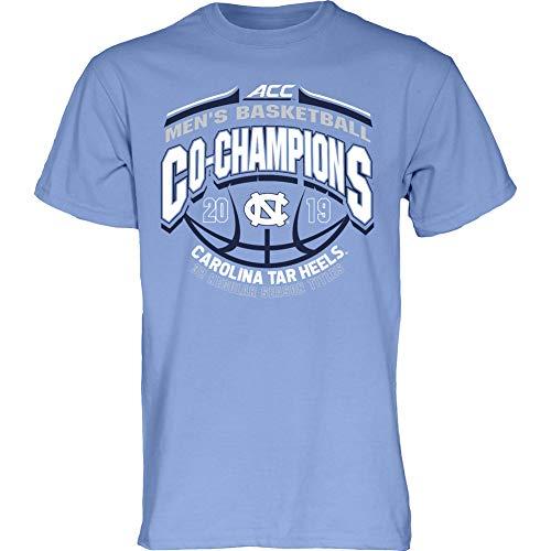 Elite Fan Shop North Carolina Tar Heels Acc Basketball Championship Tshirt 2019 Conference - XL - Blue