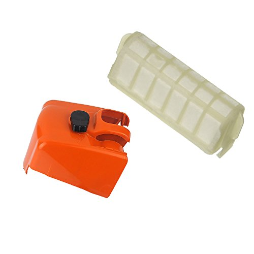 PODOY Air Filter with Cover for Stihl MS210 MS230 MS250 021 025 023 Chainsaw