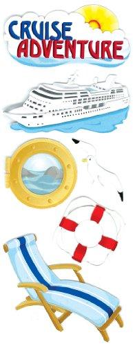 Jolee's Boutique Cruise Adventure Dimensional (Cruise Scrapbooking)