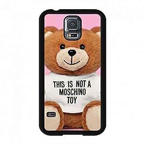 Cute Style Logo Case Moschino Logo Case Cover For Samsung Galaxy S5 funda