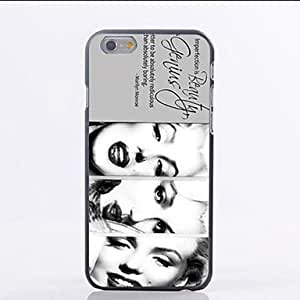 Three Marilyn Monroes Laughing Pattern PC Hard Back Cover Case for iPhone 6 hjbrhga1544