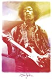Posters: Jimi Hendrix Poster - Legendary Experience (36 x 24 inches)