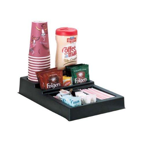KegWorks Coffee Station Condiment & Stir Stick Countertop Organizer