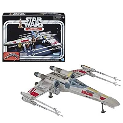 Husbro Vintage Luke Skywalker Red 5 X-Wing Fighter Figure: Toys & Games